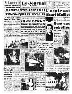 Le Maquis rouge. L'aspirant Maillot et la guerre d'Algérie. 1956. dans Guerre d-ALGERIE 555833950